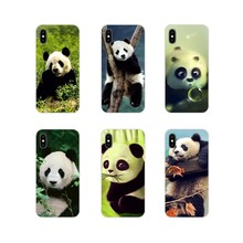 Accessories Phone Cases Covers For Xiaomi Mi4 Mi5 Mi5S Mi6 Mi A1 A2 A3 5X 6X 8 CC 9 T Lite SE Pro Cute Asian Baby Panda(China)