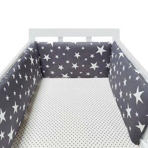 200x30cm Baby Bed Bumper Cotton Fabric Crib Bumper Cunas Para El Bebe Crib Bedding Set Newborns Room Decor