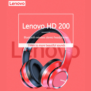 Image 3 - Lenovo سماعة رأس لاسلكية تعمل بالبلوتوث ، سماعة رأس استريو HIFI مع إلغاء الضوضاء لألعاب الفيديو ، طراز HD200