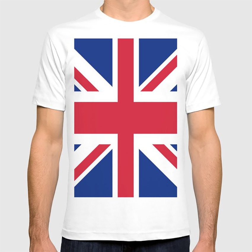 E1SYNDICATE T-SHIRT UK UNION JACK LONDON GB BIG BEN ENGLAND  2173c