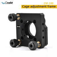 Mc 100 cage precision adjustment mirror frame 30mm cage system two dimensional experiment mirror frame fine tuning optics