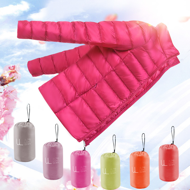 Short Light Thin Down Jacket Woman Hooded Plus Size 5xl 6xl Autumn Winter Coat Women Overcoat Casacos Femininos KJ472