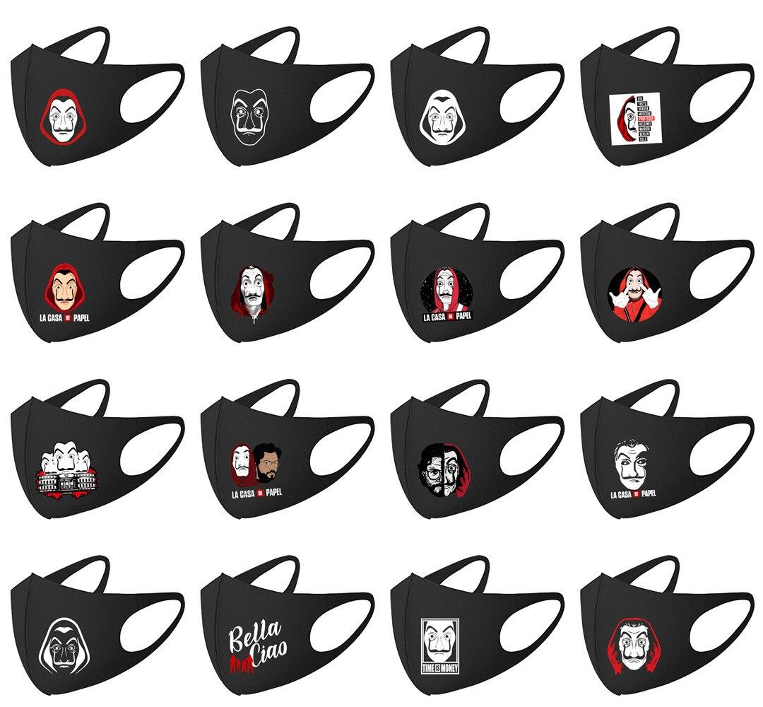 La Casa De Papel Money Heist Salvador Dali Masks Movie  Cosplay Costume Accessories Mask Money Heist Costume