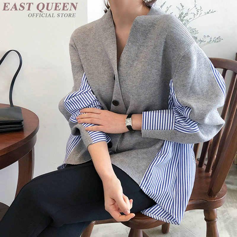 Koszule damskie 2019 Korean Fashion długa koszula tunika  tiJqJ