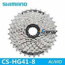 Shimano ALIVIO DEORE CS-HG41 MTB горный велосипед кассета свободного хода 8/24 скоростей маховик 11-32T запчасти для велосипеда маховик
