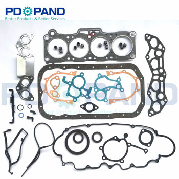 F2 Engine Rebuilding Gasket Kit for Mazda LUCE HC 626 GD GV Capella B2200 MX-6 2.2 12V Turbo 2184cc for Ford RANGER PROBE 2.2L image