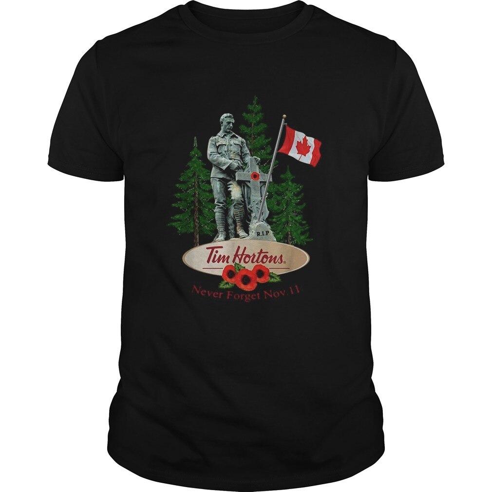 Rip Tim Hortons Never Forget Nov11 Shirt