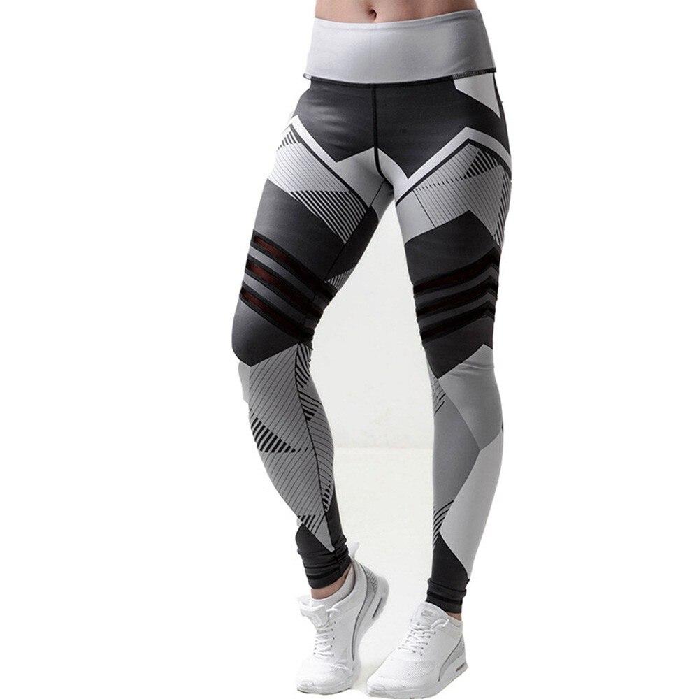 BEFORW 2020 Fashion Polyester Digital Printing Leggings Plus Size Women Sexy Workout Black Leggings Camouflage Camo Pants 3