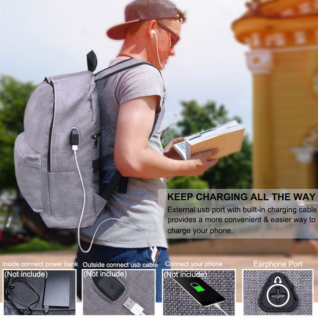 Aocharm Anti Theft Backpack School