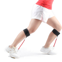 Pierna caña pantorrilla fuerza 16-32 libras bandas de resistencia Tensile fútbol Taekwondo sprint dash baloncesto salto entrenamiento
