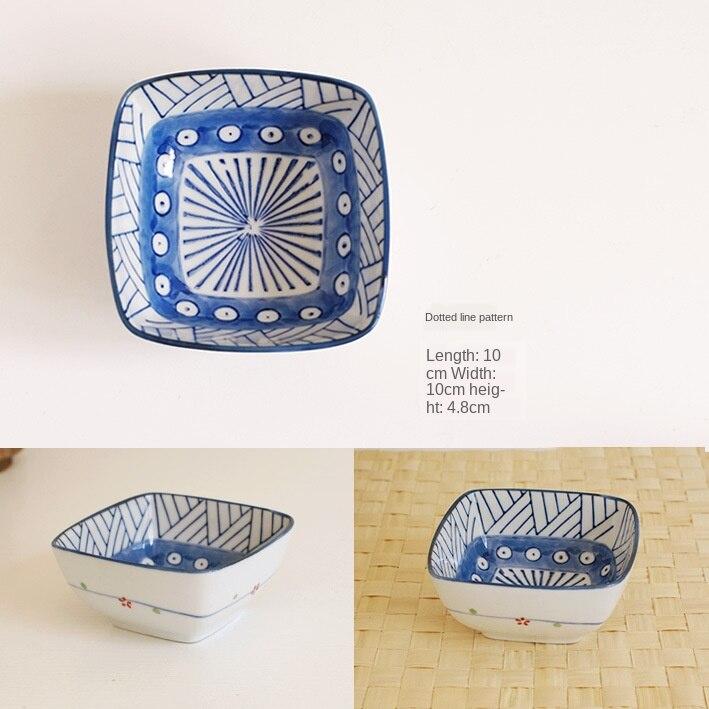 Japonês criativo multi-modelo multi-padrão cerâmica tigela restaurante