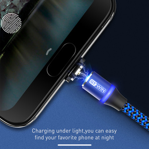 GTWIN Magnetic Cable Micro USB Cable Fast Charging usb type c Cable For Samsung Redmi Xiaomi USB Magnet Charger usb-c Wire Cord
