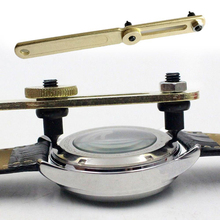 Adjustable Watch Back Case Cover Opener Battery Replacement Tool Alloy Steel Two