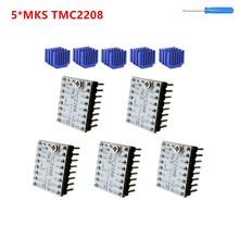 TMC 2208 سائق طابعة ثلاثية الأبعاد السائر وحدة تحكم في مشغل المحرك stepmotor سائق خطوة عصا TMC2208 محرك طابعة ثلاثية الأبعاد الاشياء