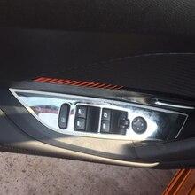 Poignée de porte, panneau de boutons de fenêtre, couvercle décoratif en acier inoxydable pour Peugeot 2008 2020 2021, accessoires de voiture