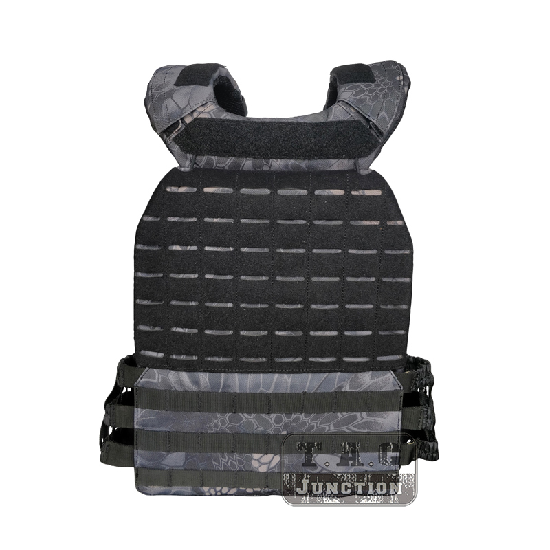 Tactical 511 Style CrossFit Weighted Vest Adjustable MOLLE Modular Quick Release Plate Carrier For Training Fitness Combat TYP