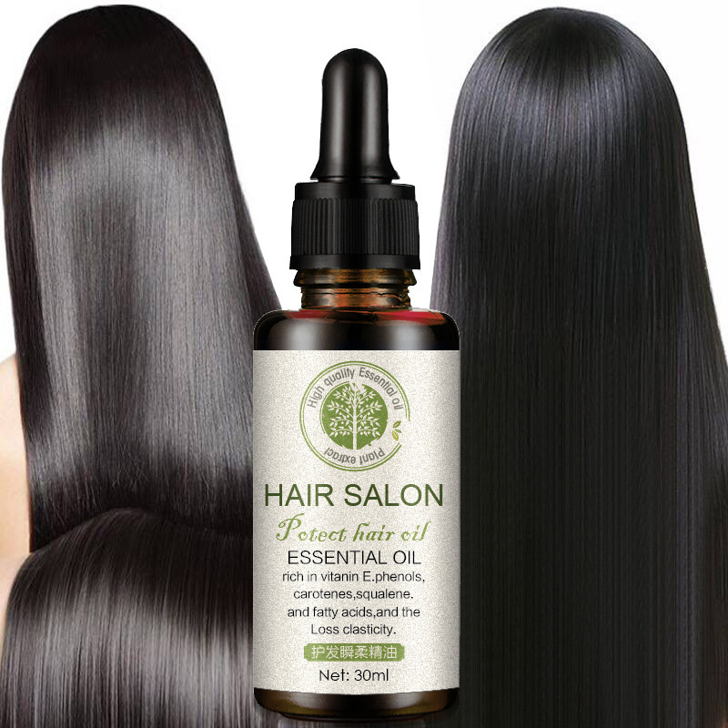 Hair Care Pure Essential Oil Dry Damage Repair Repair Nourish Scalp Care Leave-On Prevent Hair Loss Quick Recovery image