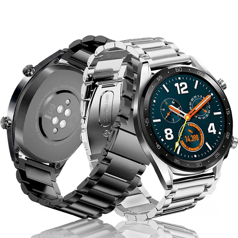 Metal Strap For Huawei Watch GT Accessories Stainless Steel Watchband Correa For Huawei Watch GT 2 46mm GT2 Honor Watch Magic