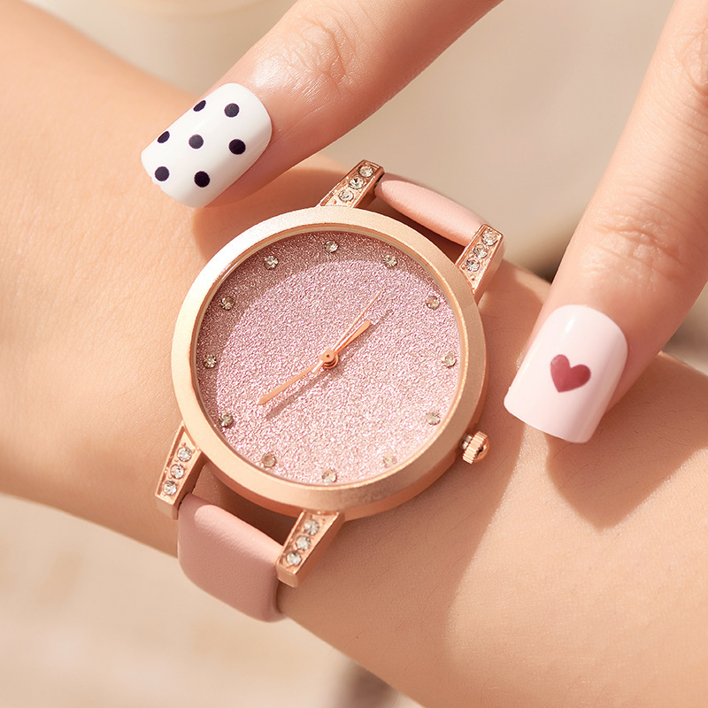 2020 Leather Starry Sky Women's Watch Fashion Women Watch Luxury Diamond Band Clock Ladies Watch Relogio Feminino Reloj Mujer