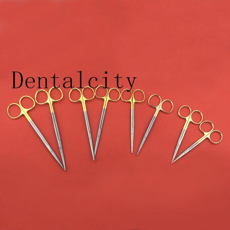 Dental Ophthalmic Blunt Scissors  Operating  Nasal Department Scissors 11.5/14/16cm