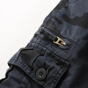 Image 3 - Jeans militaires européens, pantalon de Camouflage pour homme, nombreuses poches, Style militaire tactique des Forces masculines