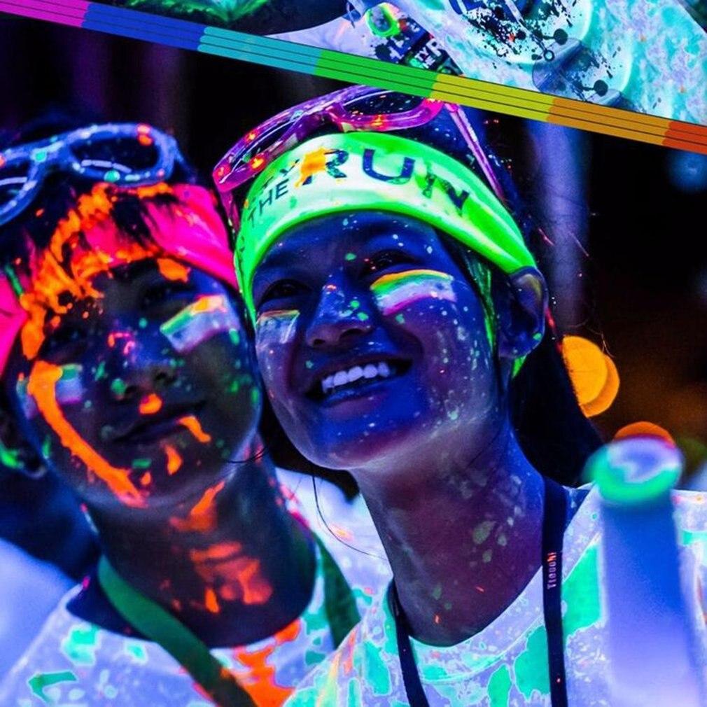 2020 13 Color DIY Top Eco Non-toxic Odor Free Waterproof Graffiti Paint Luminous Acrylic Glow In The Dark Pigment Party Walls