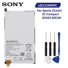 Batterie Sony de remplacement dorigine pour SONY Xperia Z1 mini Xperia Z1 Compact D5503 M51w LIS1529ERPC batterie de téléphone dorigine 2300mAh