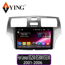 IYING Car Radio For Lexus ES250 ES300 ES330 2001 2002 2003 2004 2005 2006 Multimedia Video Player Navigation GPS Android 9(China)