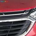 Автомобильные гоночные грили для Chevrolet Holden Equinox 2018-2020 Third GE ABS Хромированная передняя решетка для гриля Накладка для стайлинга автомобиля