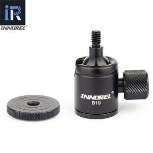 Image 5 - B19 mini ball kopf für stativ handy smartphone Aluminium legierung Stativ kopf für selfie stick licht gewicht kamera