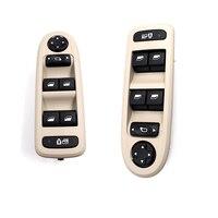 Master Window Switch Power Window Switch 98053439 30170396 98054508ZD For Peugeot 308 5 Door Hatchback Wagon 2008 2013