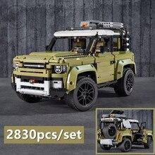 New Guardian Off-road Vehicle Land Car Rover FitLegoings Technic Defender 42110 Model Building Blocks Bricks Toys Kid Christmas