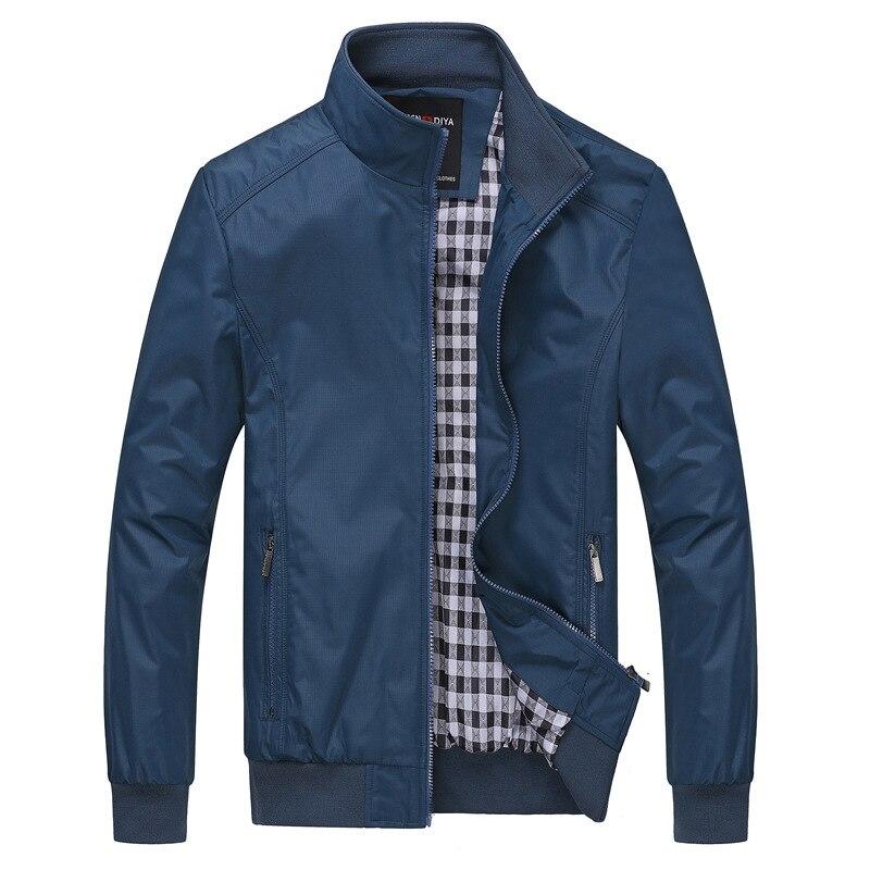 New Jacket Mens Fashion Casual Loose Mens Jacket Zipper Streetwear Bomber Jacket Mens And Coats  Jaqueta Masculina Plus Size 8XL