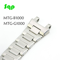 MTG B1000/G1000 Watchband 100%Metal 316L Stainless Steel Watch Accessories