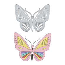 Eastshape Butterfly Metal Cutting Dies Stencils for Scrapbooking Photo Album Decoration Embossing Paper Card Craft Template clock time metal cutting dies die cutter paper photo album card craft template embossing stencils scrapbook invitation 150 168mm