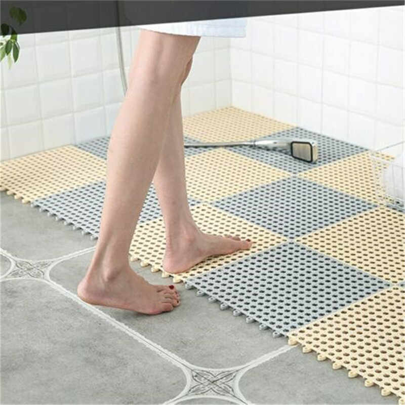 PVC FOAM FOOT SHAPE SHOWER BATH MAT BATHROOM ANTI SKID NON SLIP SHOWER DOOR RUG