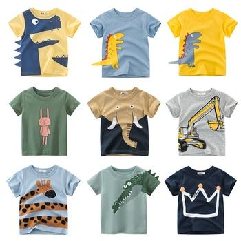חולצות קצרות צבעוניות  לילדים  1
