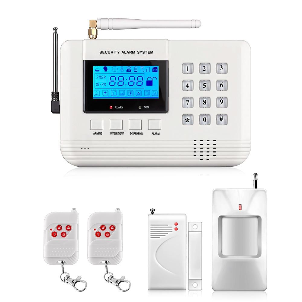 Fuers Q2 Alarm System Security Home Wireless Mobile Intelligent Digital Signal Processing Remote Intercom GSM PSTN Alarm System