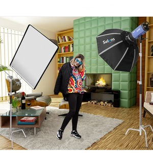 Image 4 - Quente 4 cores painel cltoh estúdio de vídeo bandeira inoxidável painel cltoh refletor difusor fotografia acessorios câmera photo studio