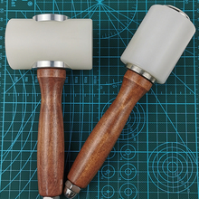 Sanbest кожа резьбы ремесленный молоток набор инструментов пробойник для кожи резки шитья DIY 350/320g молотки инструменты AT00003