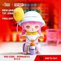 Поп-MART Банни игривость серии случайный глухая коробка игрушки Коллекционная Фигурка милый малыш Kawaii рисунок ActionToy Бесплатная доставка