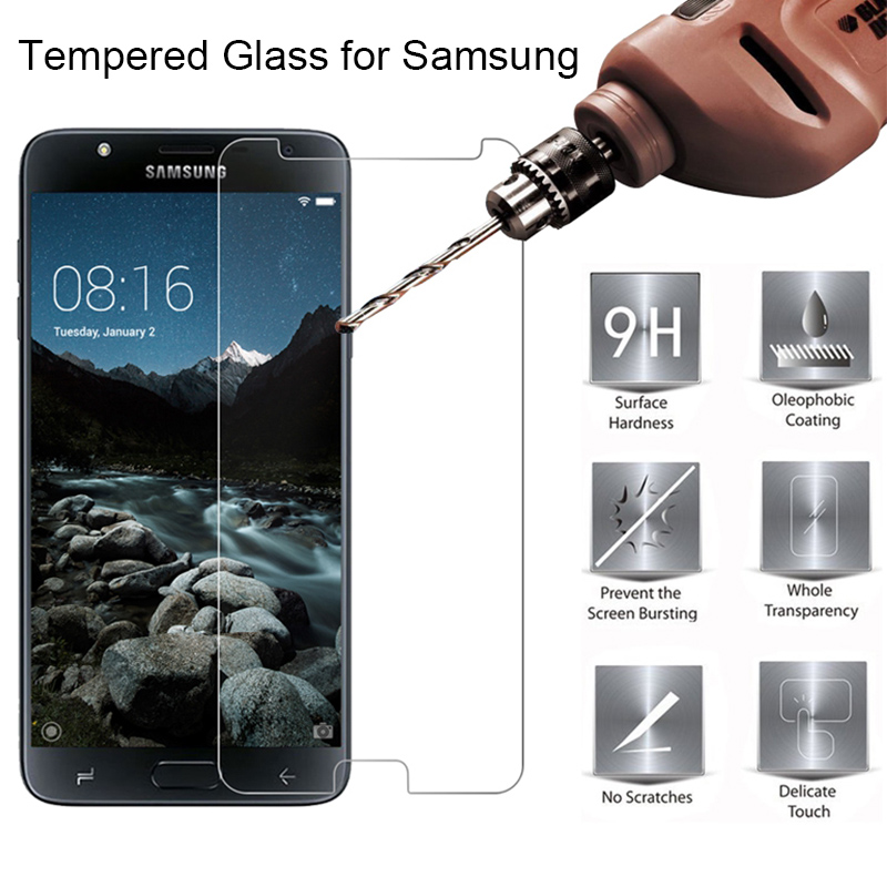 Protective Screen Protector For Samsung J7 2016 J710 J510 J3 J5 Phone Film HD Tempered Glass For Galaxy A5 2016 A7 A3 A510 A710