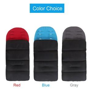 Image 5 - Детский матрас в коляске, водонепроницаемая муфта для ног, зимние спальные мешки, коврик, подкладка для коляски, конверт для новорожденных