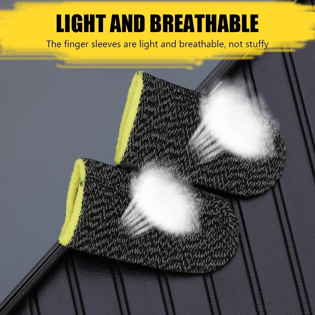 2pcs dihanje igralni krmilnik prst pokrov znoj odporne proti praskam - Igre in dodatki - Fotografija 5