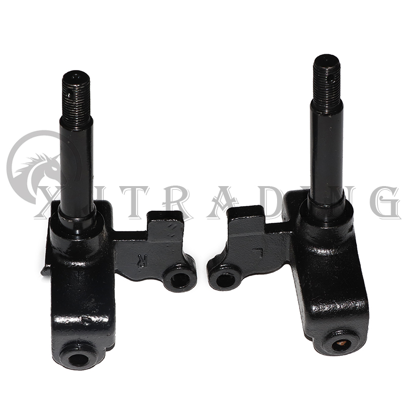 1Pair/2pcs Steering Strut Knuckle Spindle Fit For Drum Brake Hub 50cc 110cc 500w 800w electric atv Buggy UTV Vehicle Bike Parts