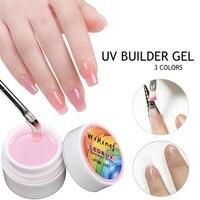 Led UV de secado rápido para uñas, esculpido de extensiones de Gel, Gel de gelatina dura para manicura UV