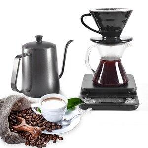 Бытовой Кофе весом 0,1 г капельного Кофе весы с таймером Портативный электронные цифровые Кухня весы высокой точности ЖК-дисплей весы