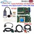 Диагностический инструмент OBD2 Lexia 3, полный чип Diagbox PP2000 Lexia3 V7.83 Fireware 921815C Lexia3 для Citroen и Peugeot, сканер кодов