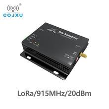 915 MHz לורה SX1276 RS485 RS232 20dBm cdebyte E32 DTU 915L20 משדר ומקלט uhf מודול RF DTU 915 MHz משדר