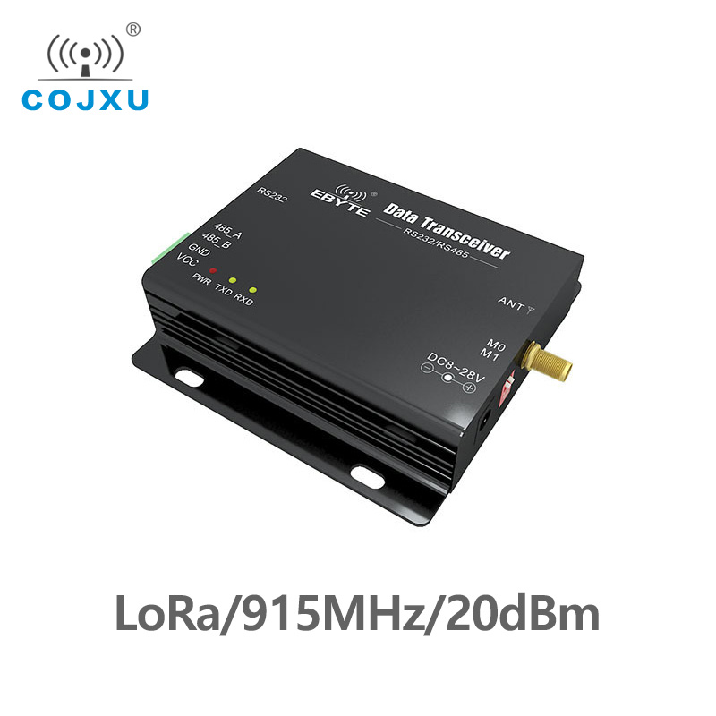 915MHz LoRa SX1276 RS485 RS232 20dBm Cdebyte E32-DTU-915L20 Transmitter And Receiver Uhf Module RF DTU 915 MHz Transceiver